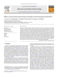 """[""""Effects of oral creatine and resistance training on serum myostatin and GASP-1"""""""